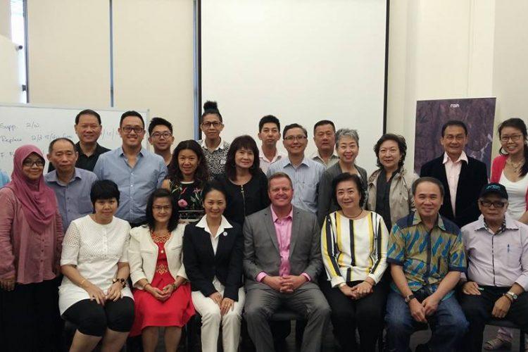安雨国际事业产品分享 Sharing By CEO & Diamond Ms. Rachel at Singapore